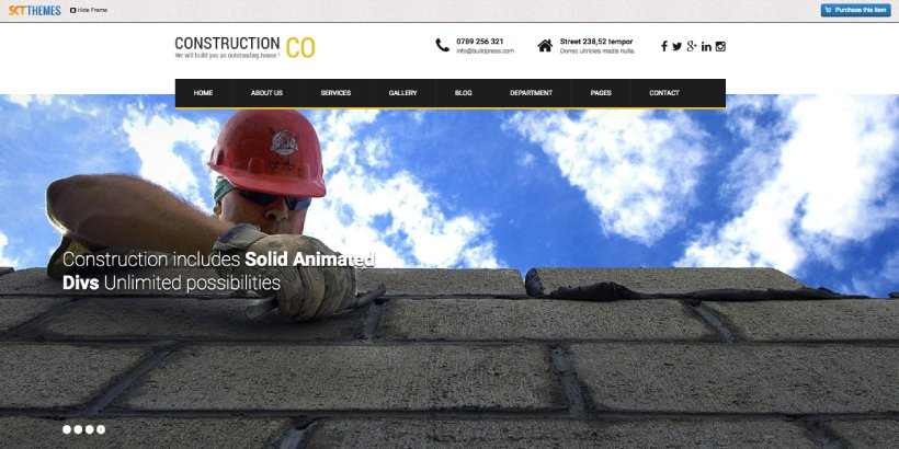SKT Construction Lite Free Construction WordPress Themes