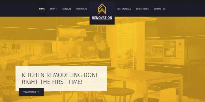 Renovation Premium Construction WordPress Themes