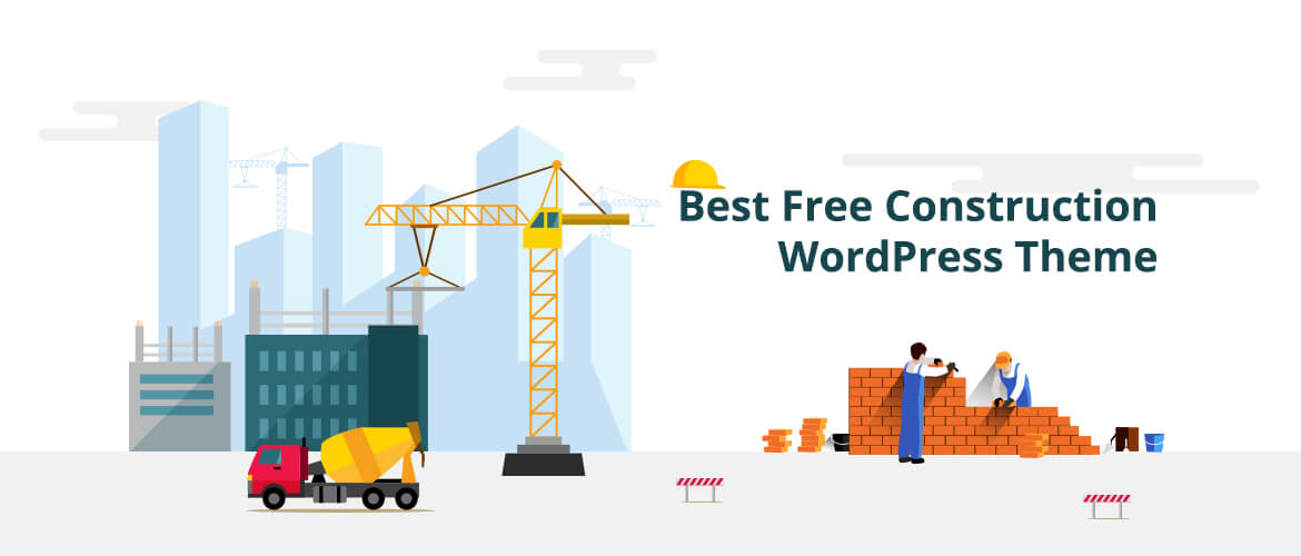 15+ Best Free Construction WordPress Themes 2021