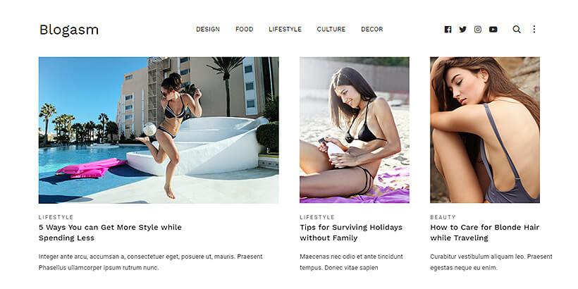 blogasm free wordpress themes