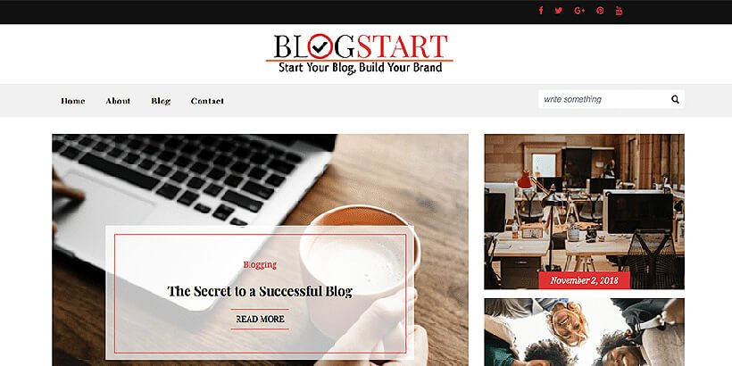 best free blog wordpress themes