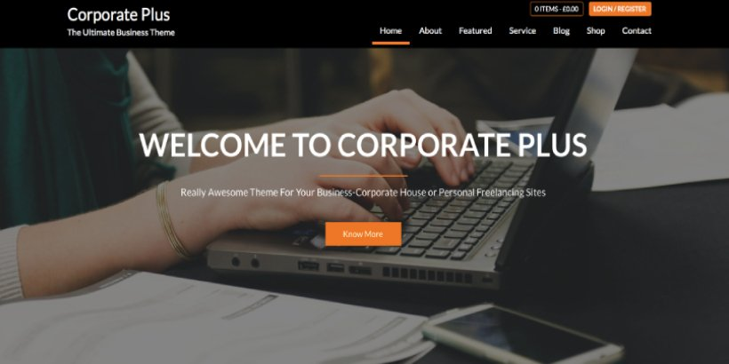 corporate free wordpress themes