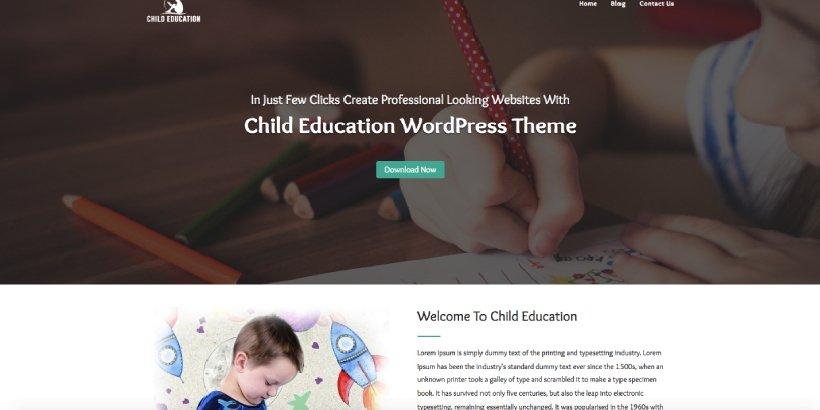 Child Education Free Education WordPress Themes