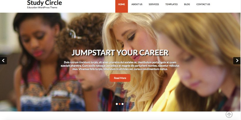 Study Circle Free Education WordPress Themes