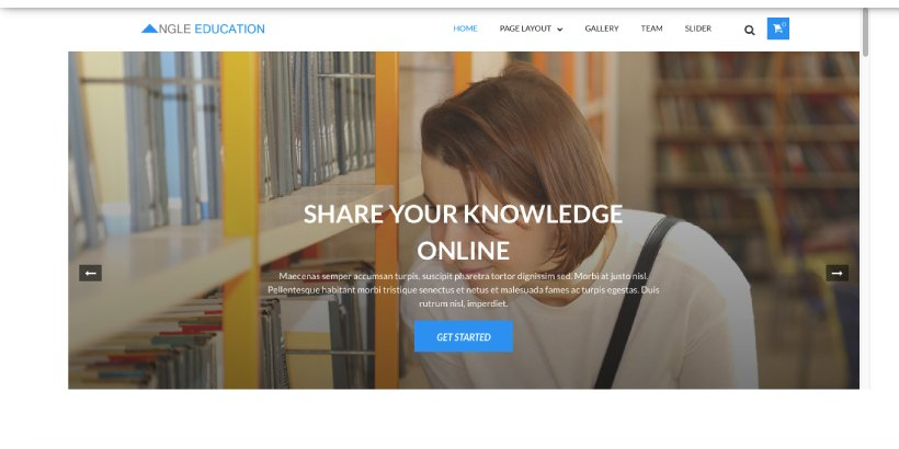 Angel Education Free Education WordPress Themes
