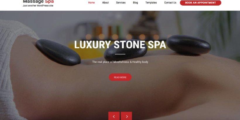 Massage Spa Free Salon and Spa WordPress Themes