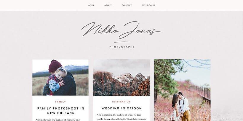 nikko free portfolio wordpress themes
