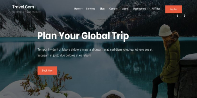 free travel WordPress theme