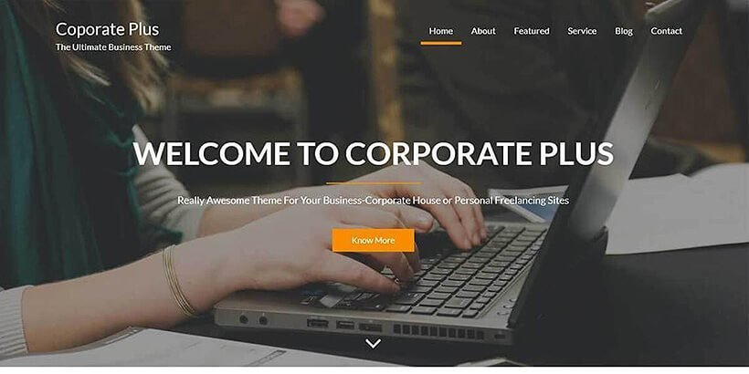 corporate free event wordpress themes