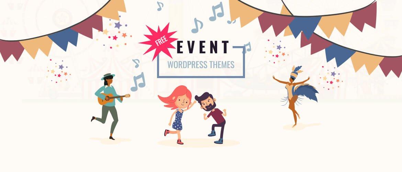 15+ Best Free Event WordPress Themes 2021