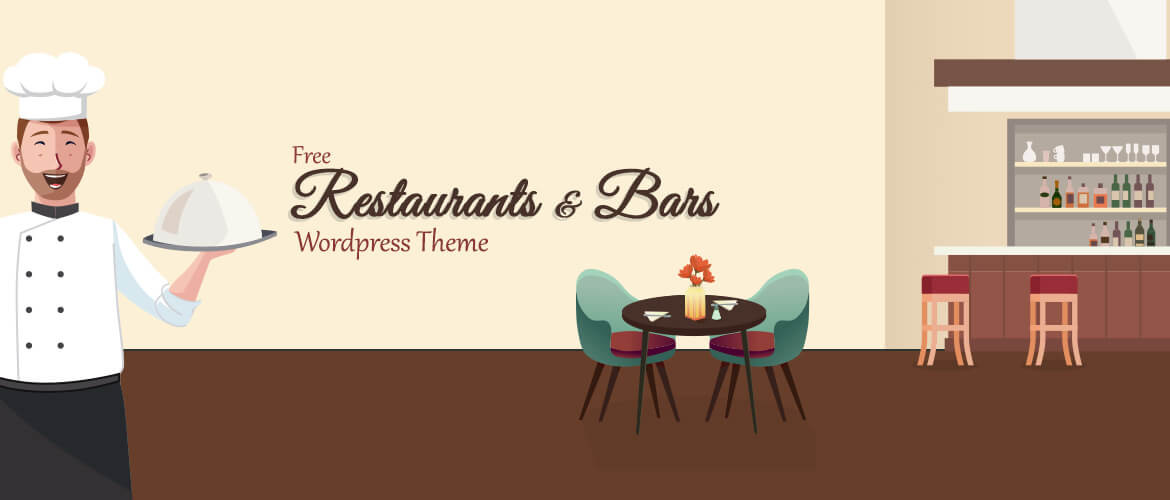 15+ Free Restaurants and Bars WordPress Themes 2021