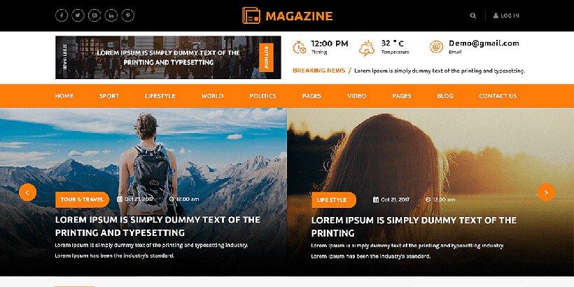 multipurpose free magazine wordpress themes