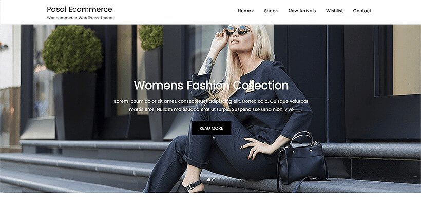 pasal free woocommerce themes
