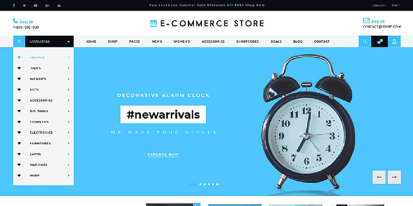 ultimate free woocommerce themes