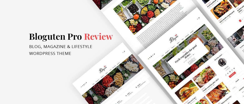 Bloguten Pro Review – Blog, Magazine & Lifestyle WordPress Theme