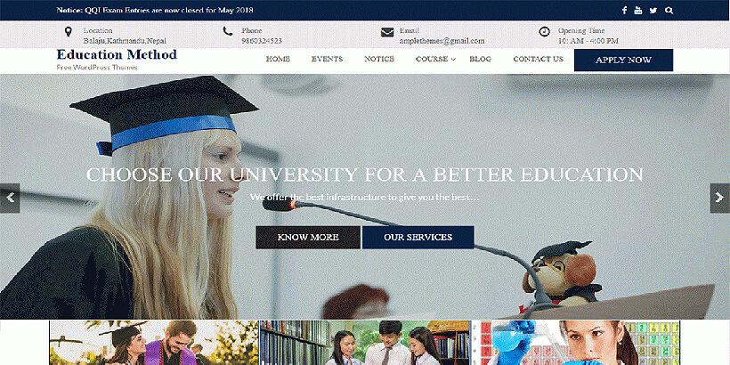 educationmethod free gutenberg compatible wordpress themes