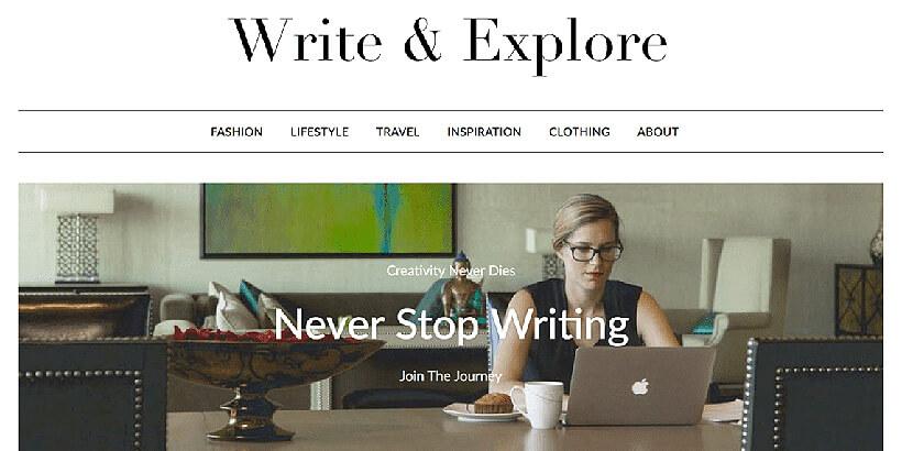 minimalist blogger free gutenberg wordpress themes