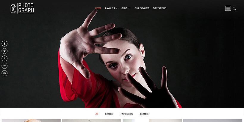 photograph free gutenberg compatible wordpress themes