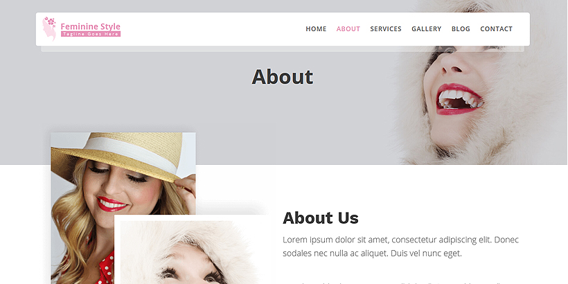 Feminine Style Theme Review : A woman oriented WordPress