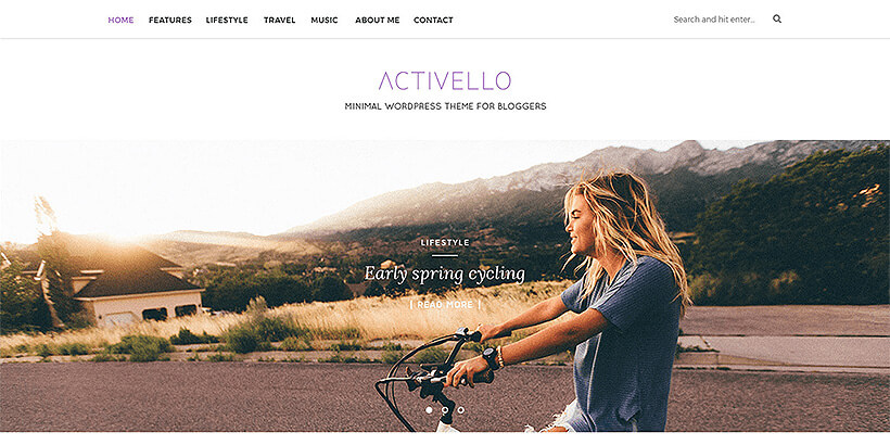 activello free lifestyle wordpress themes