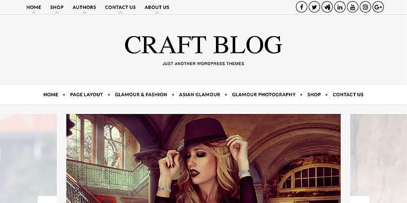 craftblog free translation ready wordpress themes