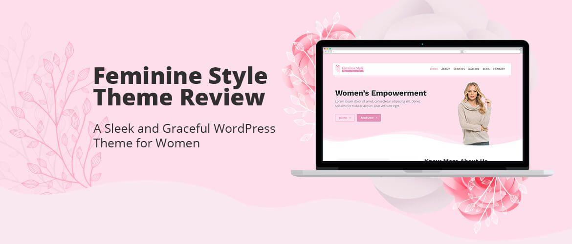 Feminine Style Theme Review : A Sleek and Graceful WordPress Theme for Women