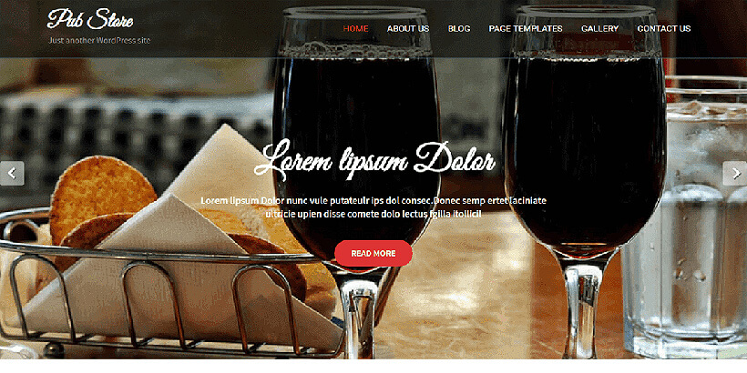 pubstore free lifestyle wordpress themes