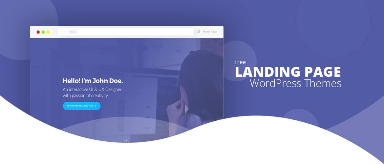 15+ Best Free Landing Page WordPress Themes 2020