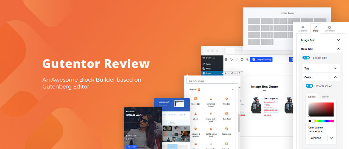Gutentor Review: An Awesome Block Builder based on Gutenberg Editor