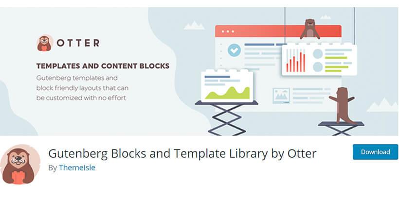 otter best gutenberg blocks plugins for WordPress