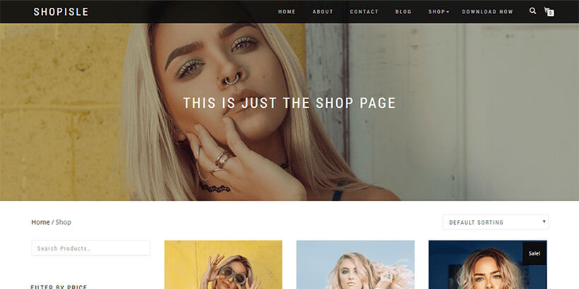 shopisle most popular wordpress themes