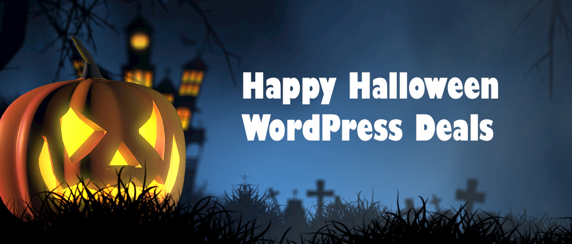WordPress Halloween Sale 2019 | Heavy Discount & Deals