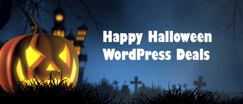 WordPress Halloween Sale 2020 | Heavy Discount & Deals