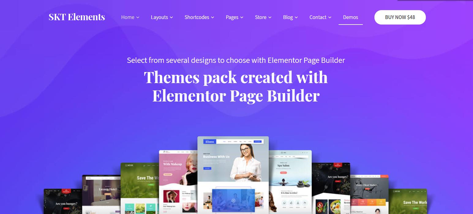 SKT Elementor - SKT Themes