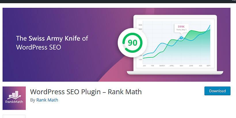 rankmath free SEO plugins for WordPress