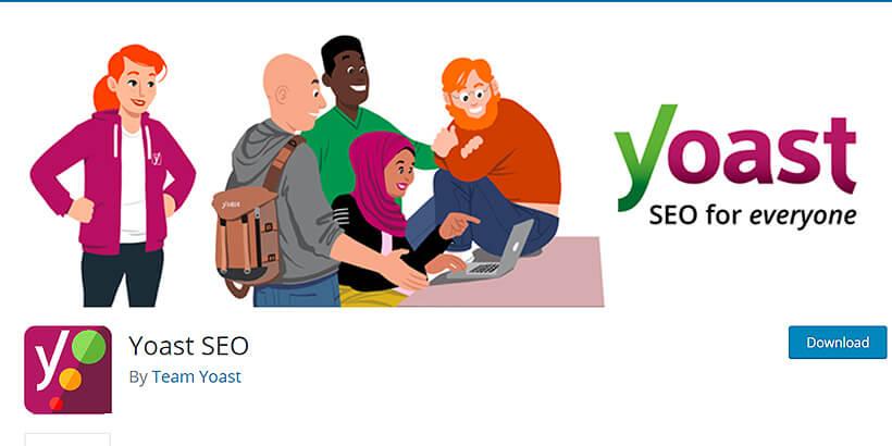 yoastseo free SEO plugins for WordPress