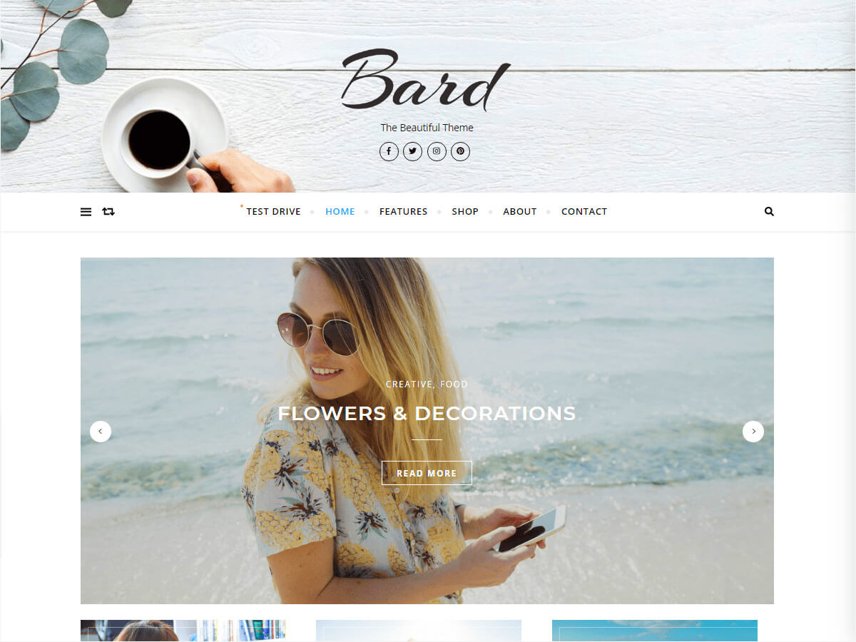 bard free wordpress themes