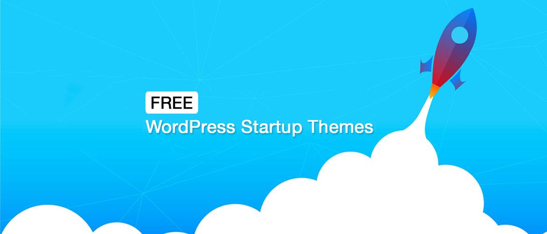 free wordpress startup themes