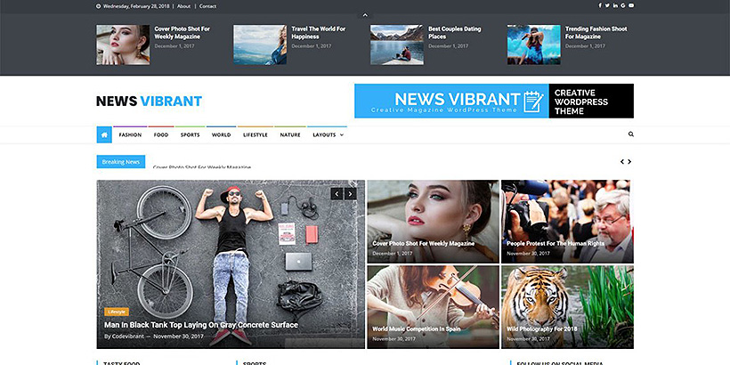 newsvibrant free magazine wordpress themes