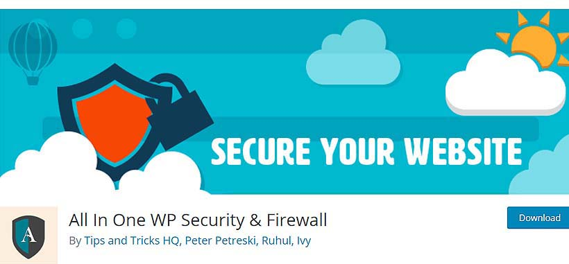 allinonewp best wordpress security plugins