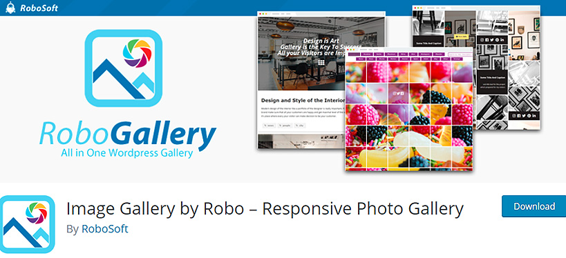 robogallery free WordPress gallery plugins