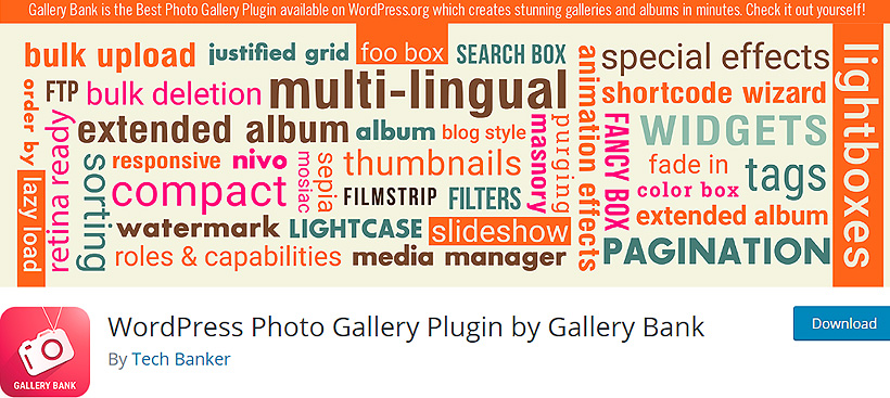 wordpress photo galleries