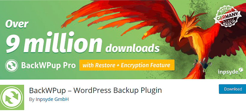 backupwp best wordpress backup plugins