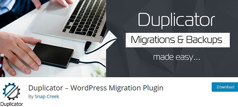 duplicator best wordpress backup plugins