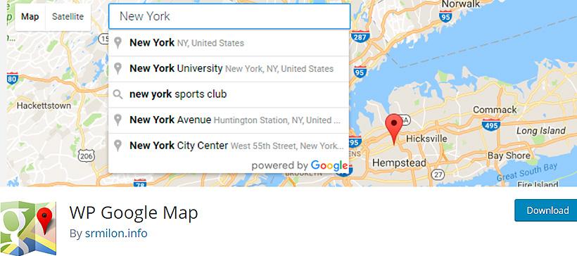 gmapembed Best Free WordPress Google Map Plugins