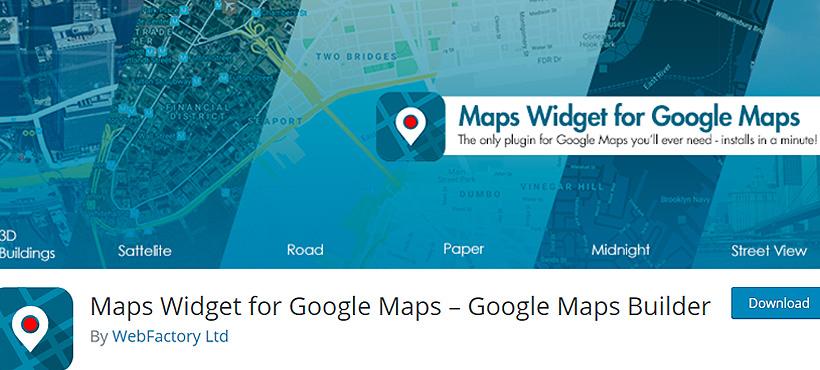 googlemapbuilder Best Free WordPress Google Map Plugins
