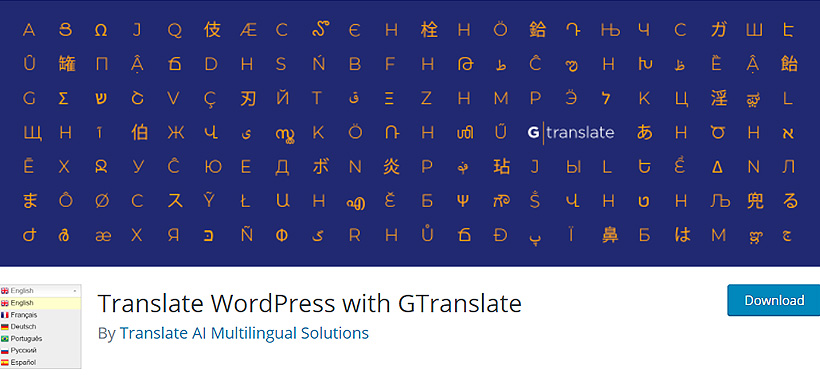 gtranslate best language translation for wordpress
