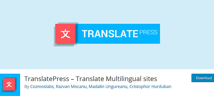 translatepress best language translation for wordpress