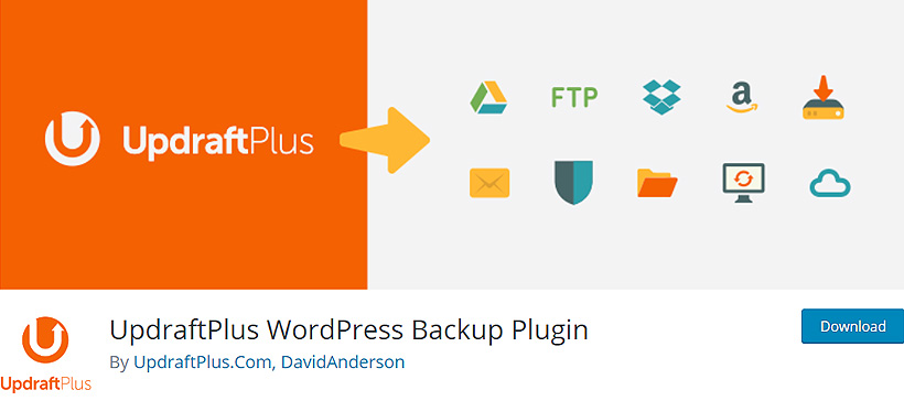 updraftplus best wordpress backup plugins