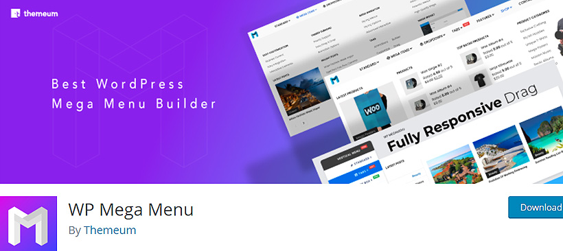 wpmegamenu best free wordpress mega menu plugins
